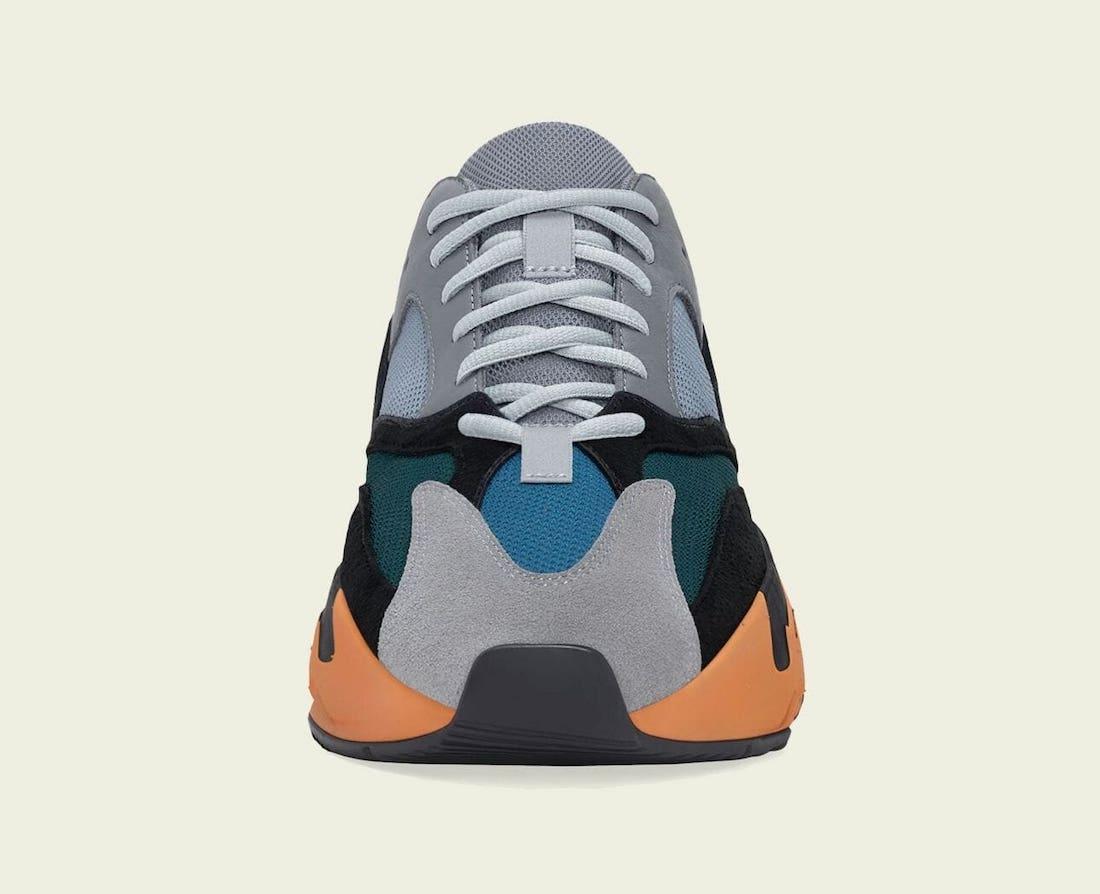 adidas,Yeezy Boost 700,Wash Or  回头率超高!太阳橙 Yeezy 700 官图曝光!下周发售!