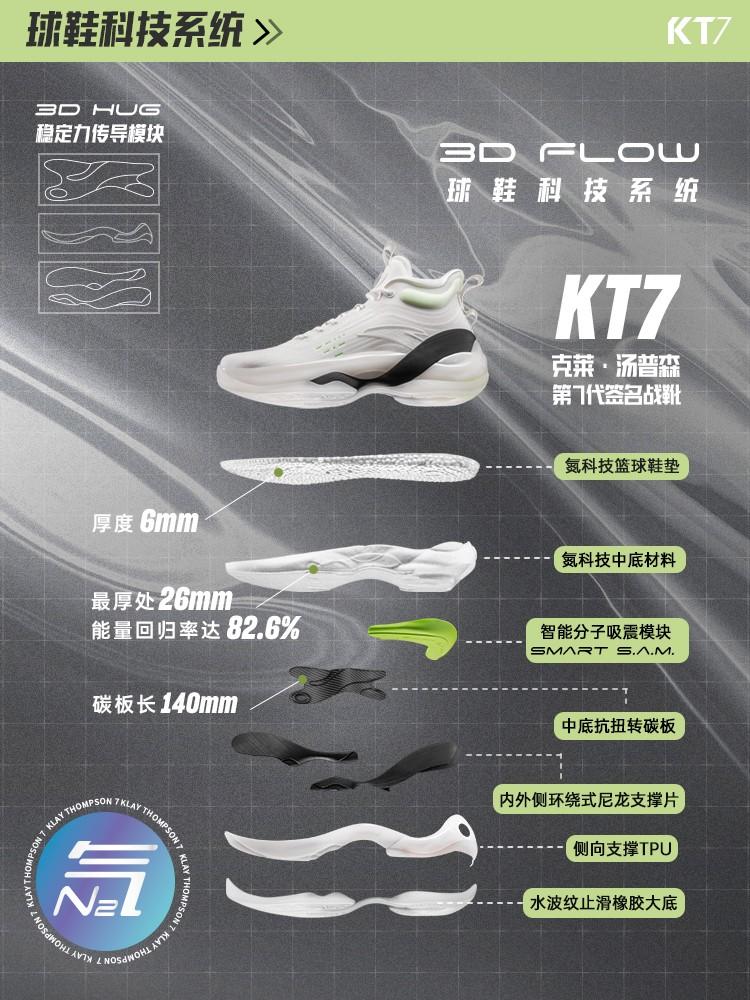 KT7,安踏,发售  话题度极高!三款 KT7 新配色刚刚上架!款款都够特别!