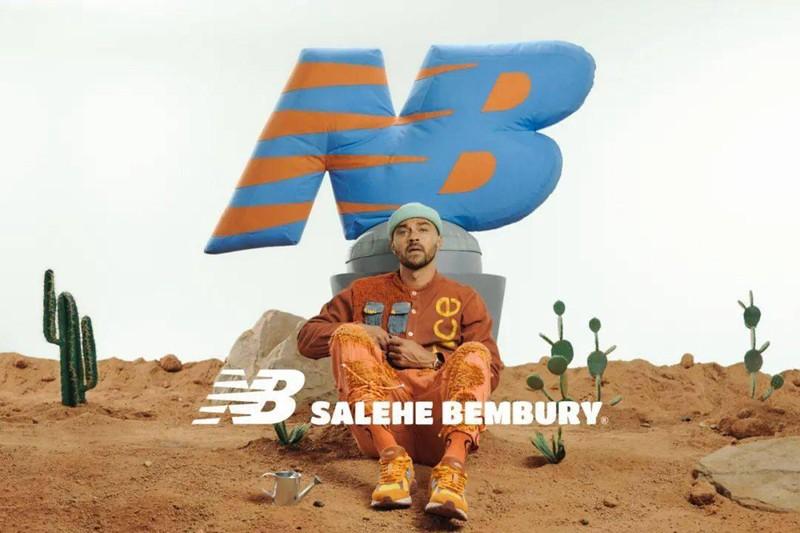 New Balance,574,MS574YSB,Saleh  范思哲设计总裁亲自操刀!全息 Salehe Bembury x NB 联名系列曝光!