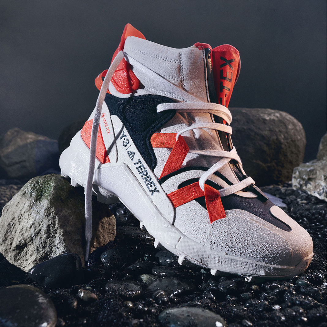 adidas,Y-3,Terrex Swift R3 GTX  科幻机能造型!全新 adidas Y-3 实物曝光!