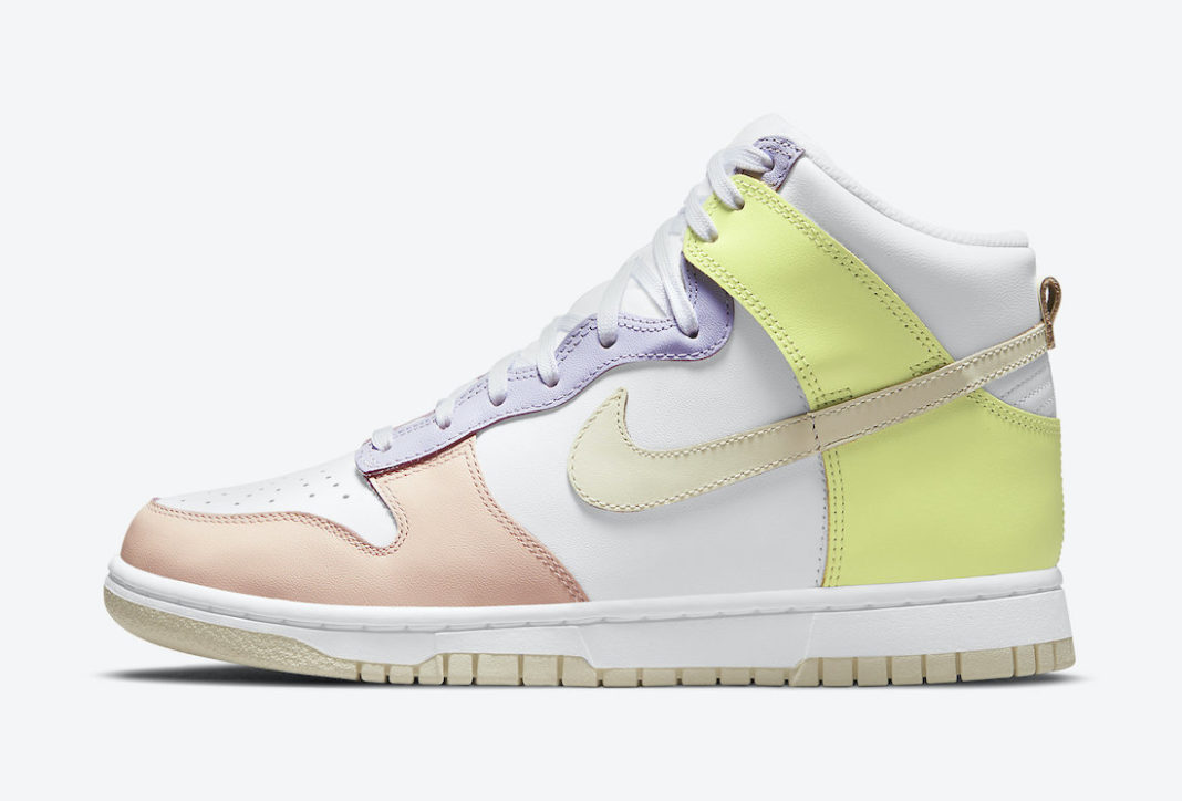 Nike,Dunk High,Cashmere,DD1869  缤纷马卡龙配色!高颜值 Dunk High 官图曝光!