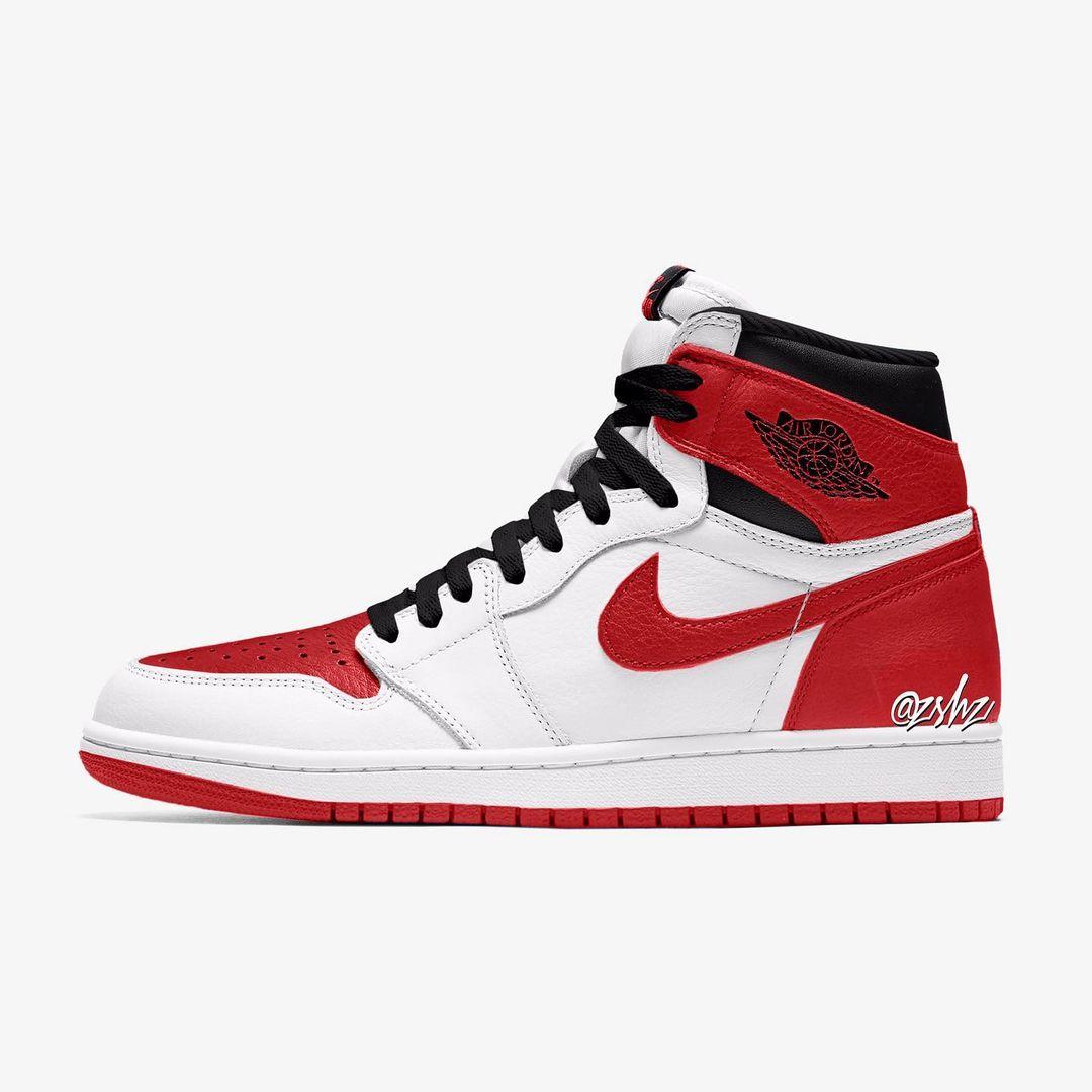 Air Jordan 1 Hi,AJ1,芝加哥,Herita  酷似闪电倒钩 AJ1!「芝加哥 2.0」首次曝光!明年夏季发售!