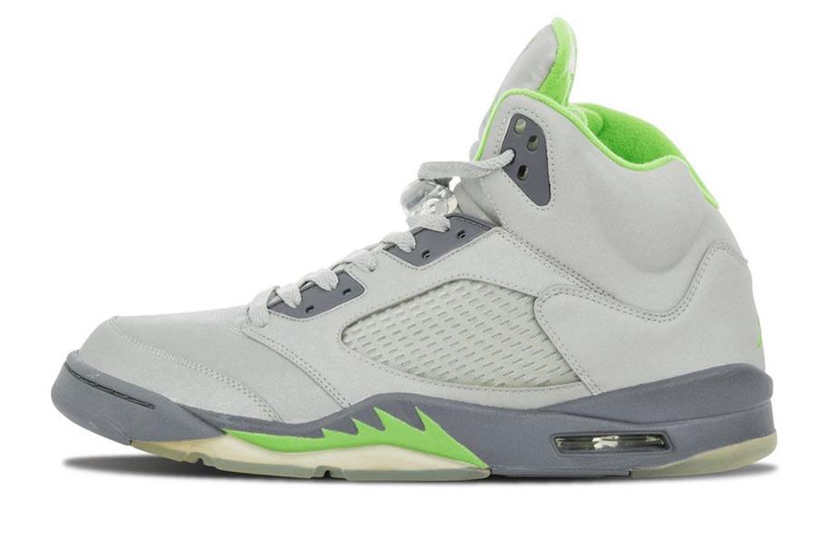 Air Jordan 5,Green Bean,DM9014  时隔 15 年再度回归!灰绿 Air Jordan 5 发售日期定了!