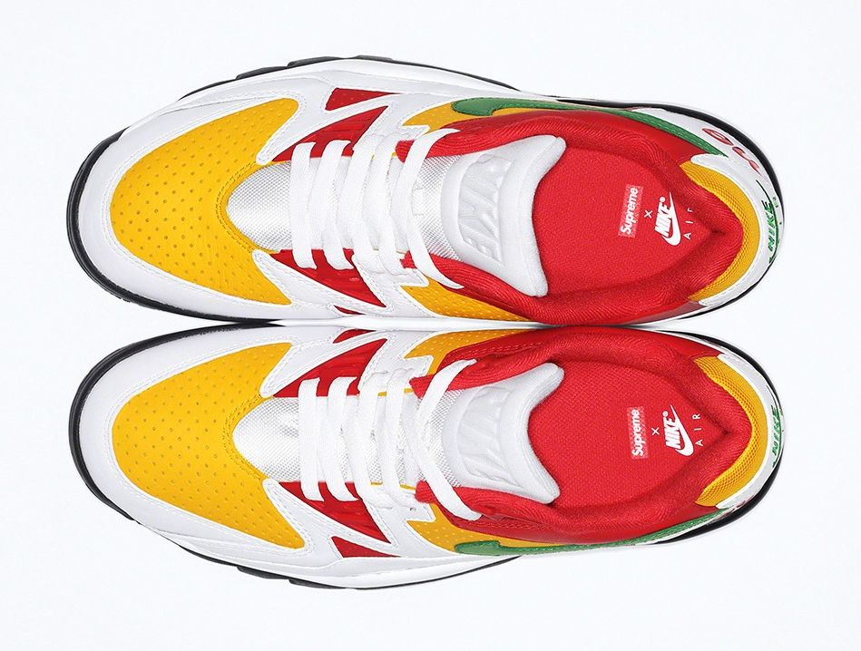 Supreme x Nike Air Cross Train  复古鞋型 + 撞色设计!两双全新 Supreme x Nike 即将发售!