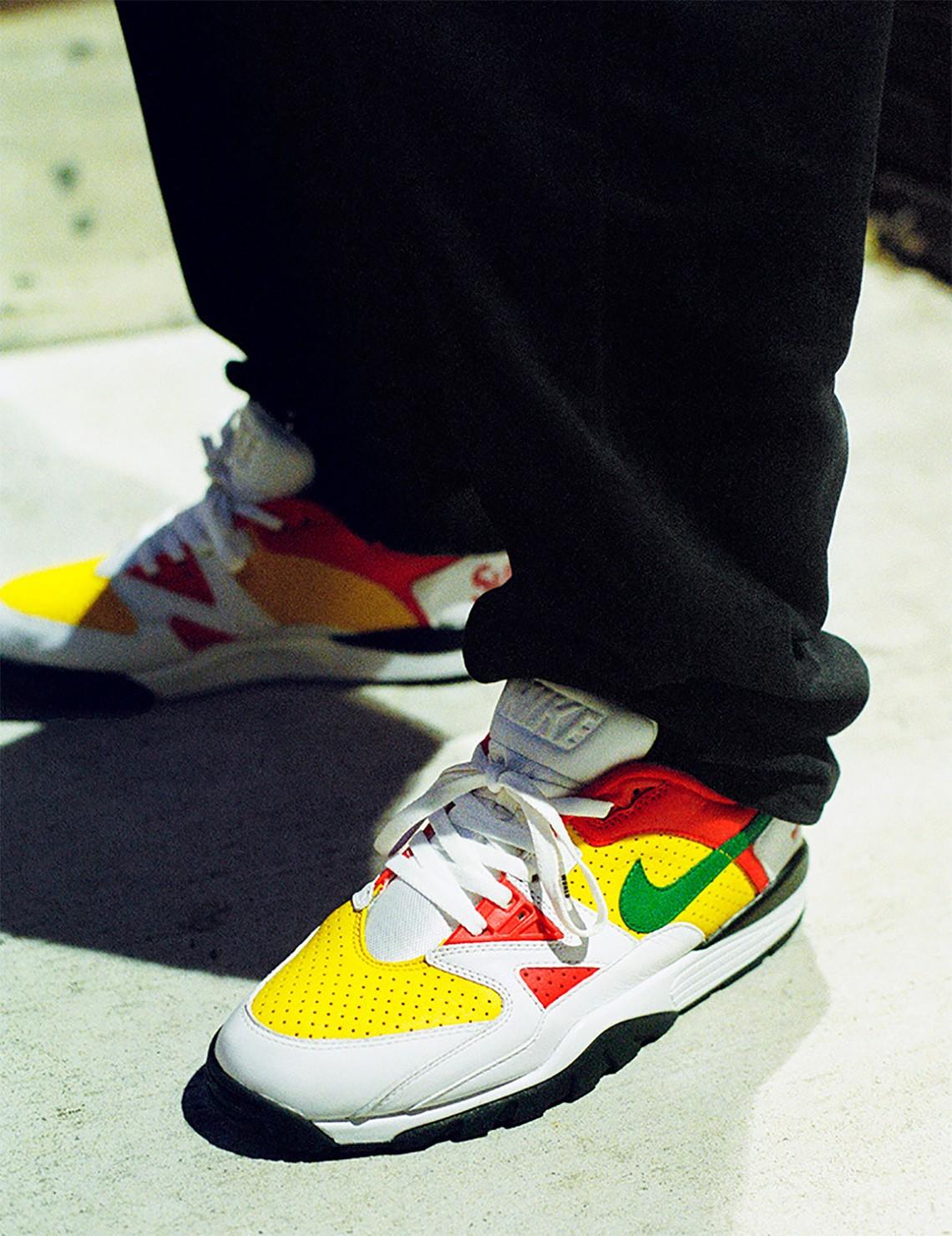 Supreme,Nike, Air Cross Traine  这不是 Gucci 配色吗?全新 Supreme x Nike 鞋款明日发售!