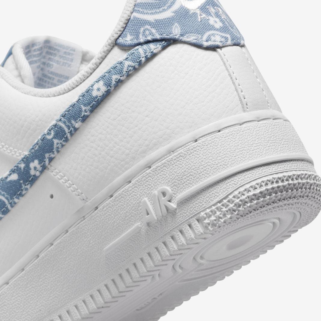 Nike,Air Force 1 Low,Paisley,D  腰果花图案太赞了!全新 Air Force 1 Low 官图曝光!