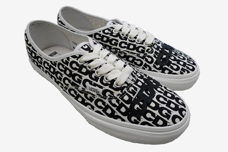 COMME des GARÇONS,CDG,Vans  CDG x Vans 系列鞋款补货上架!发售渠道曝光!
