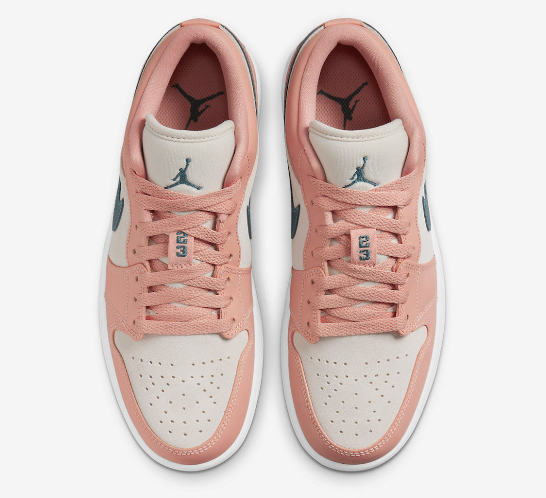 AJ,Air Jordan 1 Low,Light Madd  甜美撞色设计!全新 Air Jordan 1 Low 官图曝光!
