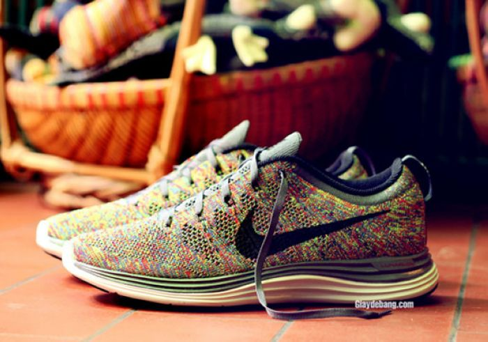 "Nike Lunar Flyknit One ""Multi-Color""实物图赏"