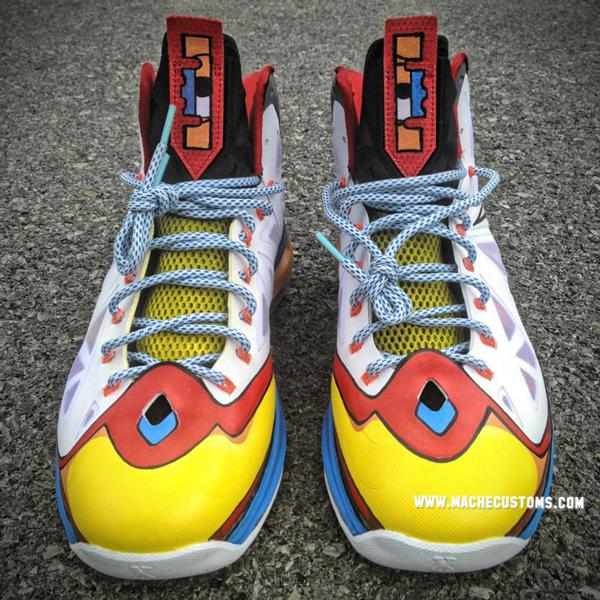 "nike lebron 10 ""stewie"" 定制版本欣赏 球鞋资讯 站"