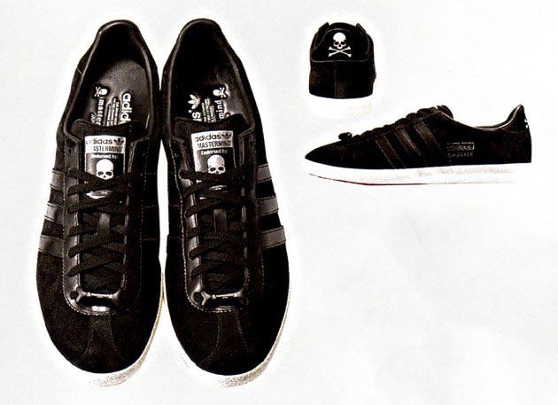 mastermind JAPAN x adidas Originals 联名鞋款预览