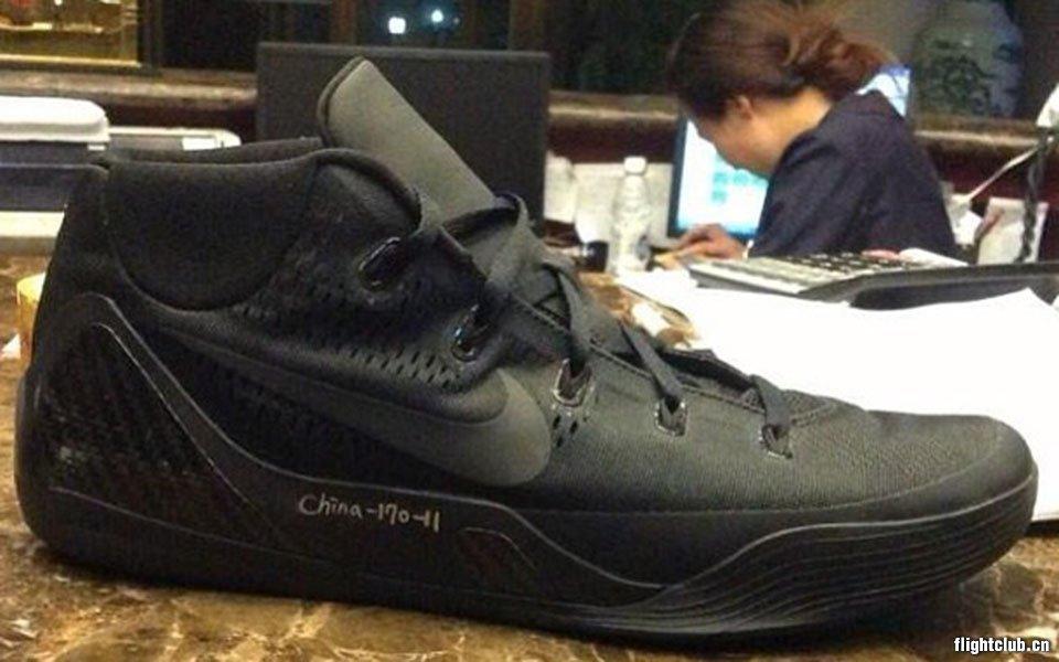Nike Kobe 9 试穿样品曝光