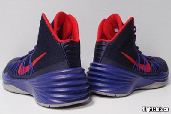 Nike Hyperdunk 2013 紫/红/灰 实物图赏