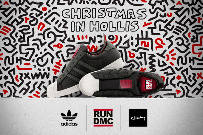 Run DMC x Keith Haring x adidas Originals 三方联名鞋款登场