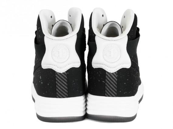 Nike Lunar Force 1 High 黑/白泼墨 即将丢售