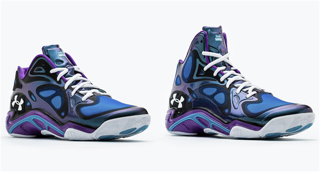 "Under Armour Anatomix Spawn Mid  Low ""Charlotte""配色"