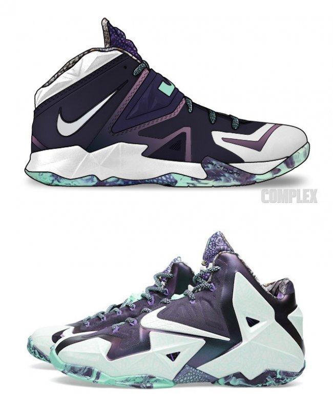 当 LeBron 11 遇上 Nike Zoom Soldier 7