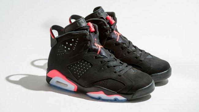 """乔丹2014复刻_Air Jordan 6 """"Infrared23"""" 2014 复刻信息 AJ6 球鞋资讯 FLIGHTCLUB中文站 ..."""