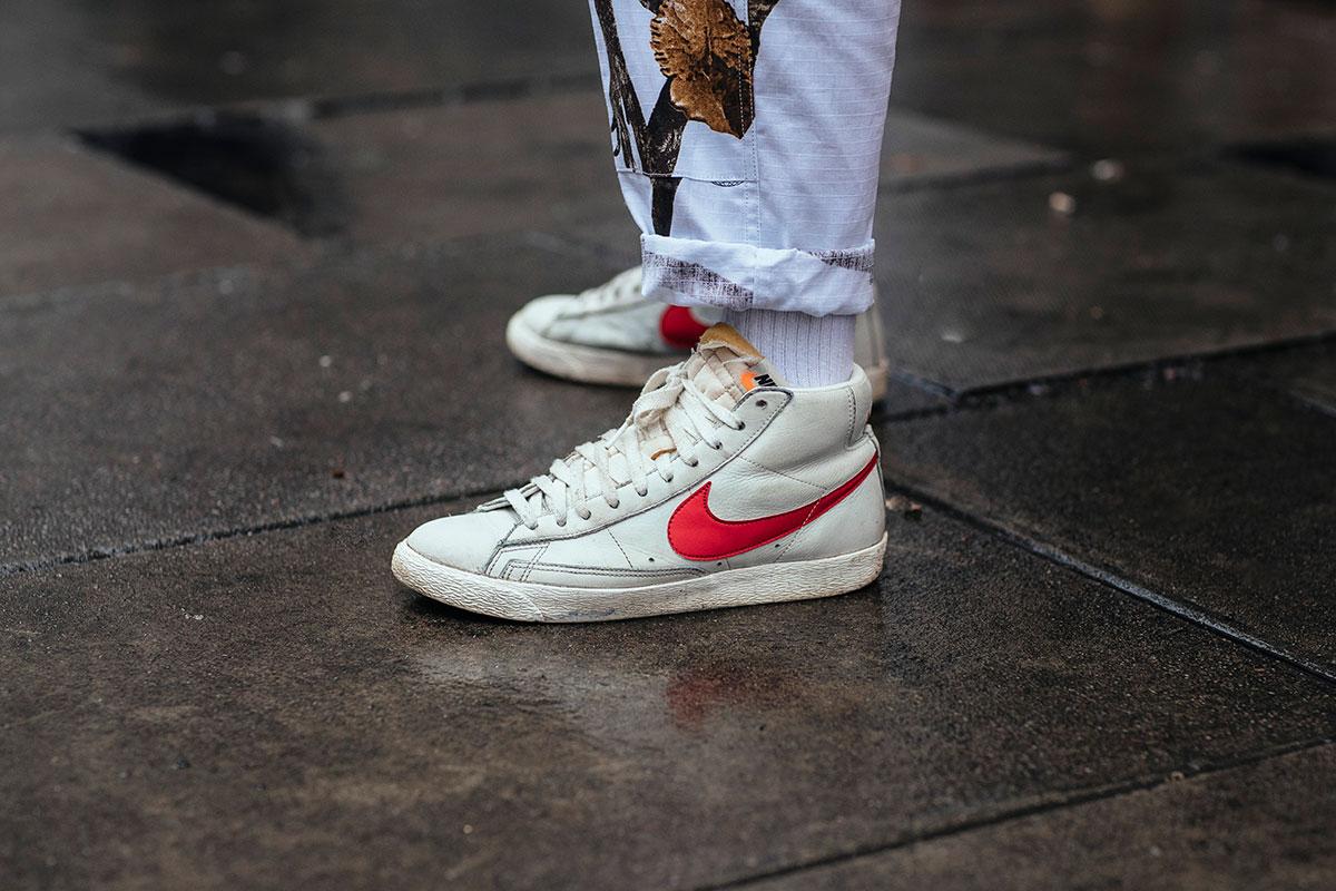 球鞋上脚,明星上脚  伦敦时装周 FW17 球鞋上脚精选